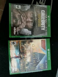 Xbox1 games Salt Lake City, 84116