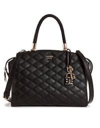GUESS PENELOPE QUILTED SATCHEL Surrey, V3T