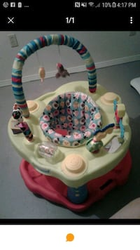baby's white and red activity center Lockport, R1A 3G8