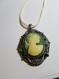 NEW Vintage style curly hair lady Cameo pendant  Clearwater, 33764