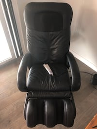 black leather office rolling chair Phoenix, 85254