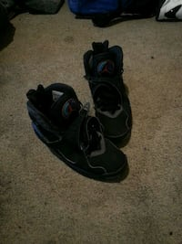pair of black Air Jordan basketball shoes Fayetteville, 28314