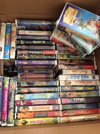 100++DISNEY VHS-CAR PLAYER FORTMYERS