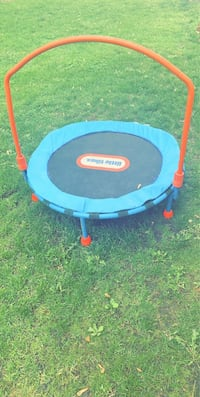 Mini trampoline for kids or work out