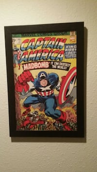 Captain America Canvas Poster Vancouver, 98682