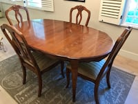 Ethan Allen Dining Table & Chairs 2278 mi