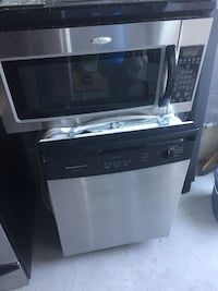 SOLD Stainless Dishwasher (Microwave Sold) Markham, L3P 2T5