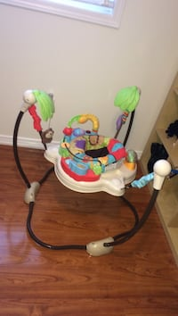 baby's white and green jumperoo Brampton, L7A
