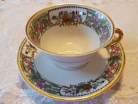 1900-1914 Antique Limoges France (Elite Works) Tea Cup Set By Bawo & Dotter For Sale! Ottawa