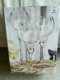 Glass candle holders Agoura Hills, 91301