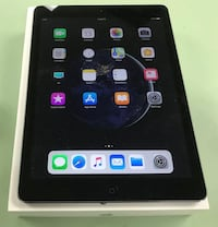 Apple iPad Air 1st Gen. 16GB, Wi-Fi, 9.7in - Space Gray MD875LL/A Silver Spring, 20910