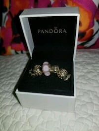 6 Retired Solid Gold 14kt Pandora Charms Gainesville, 20155