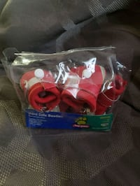 2 sets of Hard Sole Top Paw dog booties Roseville, 95747