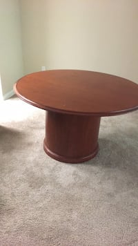 Round 2 piece Table All Wood Sandy Springs, 30328