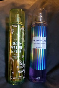 Bath & Body Works body sprays