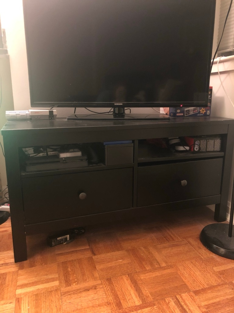 Used IKEA Hemnes TV Stand For Sale In New York   Letgo