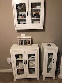 Beautiful cabinets white color