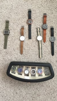 Wrist watch entire collection , need batteries .  Cherry Hill, 08034