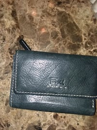 black leather Coach wristlet wallet Killeen