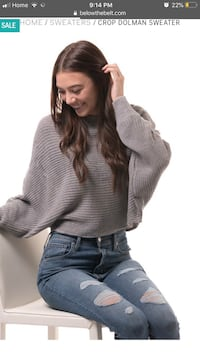 women's gray sweater Edmonton, T5E 5J7