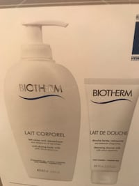 Biotherm  gift set value $35 each , Brand new . 3 available . Brampton, L7A 0K2