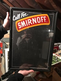 Smirnoff Light-Up Sign  Tewksbury