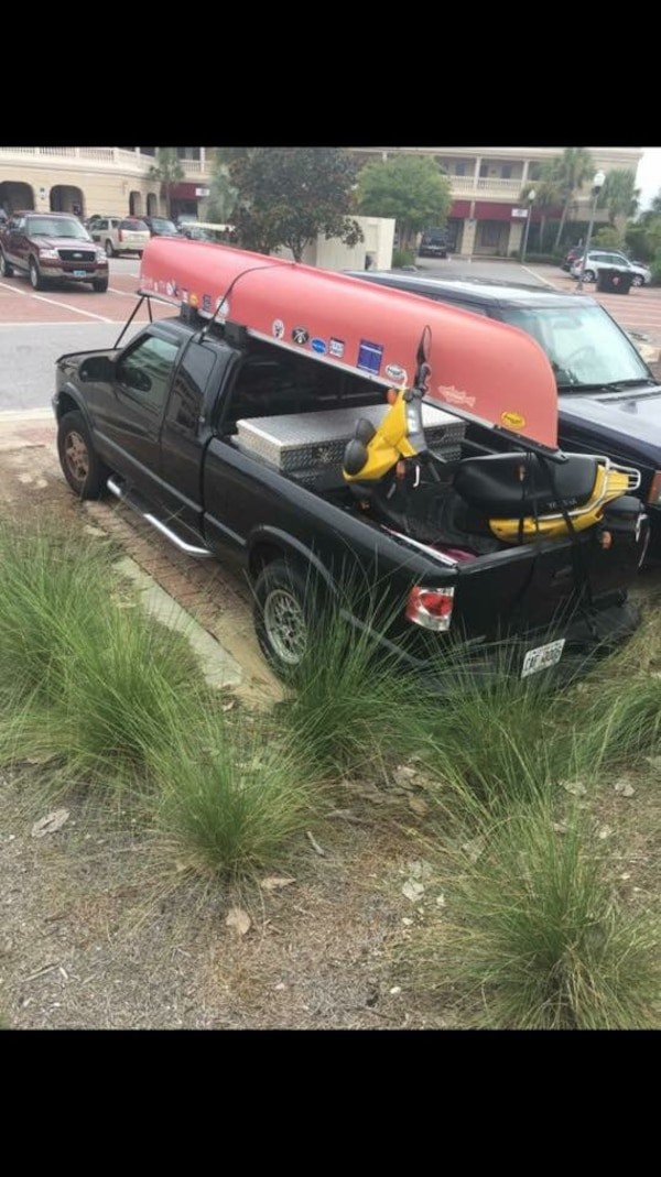 15 ft  Red Coleman Canoe