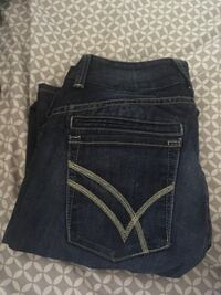 Willam rast size 24 blue denim cut jeans Edmonton, T5T