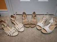 3 pairs of shoes in excellent condition,size38,39