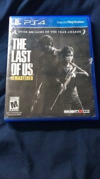 The Last Of Us for Playstation 4  Palmdale, 93551