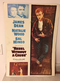 Rebel without a cause movie poster Toronto, M1W