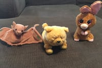 Three plush ty animals with the tag still on them for $9 Bakersfield, 93312