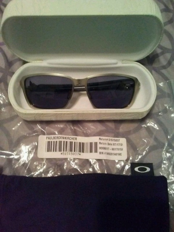 b37a1741d6 Used Paul bordenkircher tin can carbon oakley glasses for sale in Mobile -  letgo
