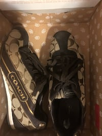 Authentic Coach sneakers, size 6.5 Toronto, M8X 2K5