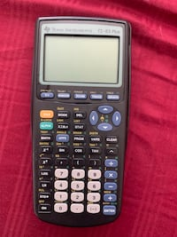 TI-83 calculator, just needs batteries!  It is the best calculator money can buy.   Tuscaloosa, 35404