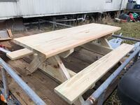 Kids picnic table. 4 foot long  34 inches wide and 20 inches tall. Pressure treated wood Church Point, 70525