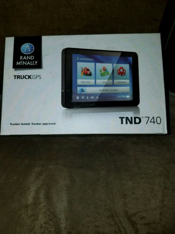 Rand Mcnally Gps >> Rand Mcnally Tnd 740 Gps
