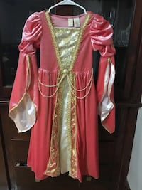 Women's red and white traditional dress Lowell, 01851