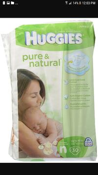 Huggies pure & natural diaper pack screenshot Surrey, V3R 1V7