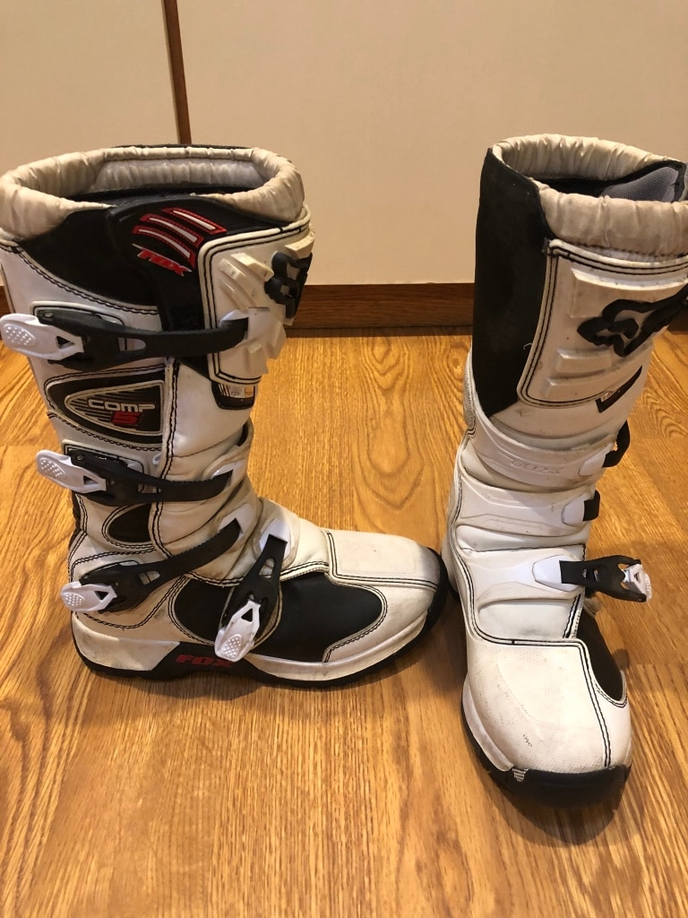 Photo Fox racing boots