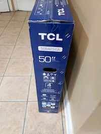 """Brand new 50"""" TCL TV with full warranty for sale Vaughan, L4H"""