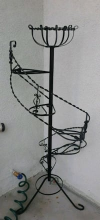 black metal rode iron plant stand decor Citrus Heights, 95621
