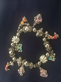 Cheerleaders Charm Bracelet