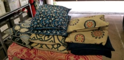 Lots of throw pillows! 10.00 ea
