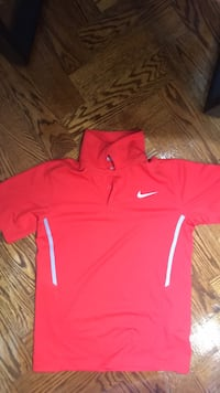 Kids red Nike collard shirt  Richmond Hill
