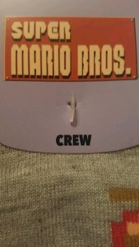 Super Mario Brothers socks