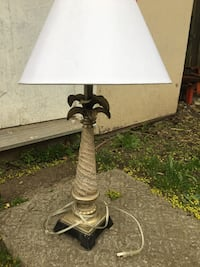 gray and white table lamp Mississauga, L5G 3R5