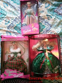 Collectible Barbies (new in box)(1994 and 1995) Grayson, 30017