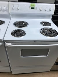 White Hotpoint electric coil stove  Woodbridge, 22191
