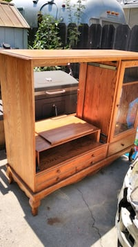 Entertainment center (with doors)